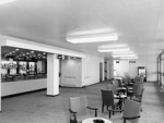 PHOTO FAIRFIELD HALLS TERRACE LOUNGE; NOV 1962; 196211JU