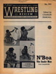 PROGRAMME WRESTLING N'BOA THE SNAKEMAN; MAY 1965; 196505BG