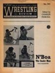 PROGRAMME WRESTLING N'BOA THE SNAKEMAN; MAY 1965; 196505BG