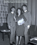 THE BEATLES AT FAIRFIELD HALLS, CROYDON, APRIL 25TH 1963; APR 1963; 144705380 backstage Ringo and John Beatles 25th April 1963 Fairfield Halls Croydon