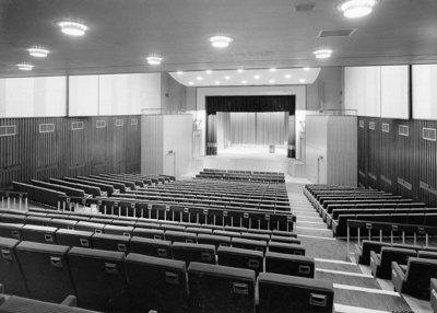 PHOTO ASHCROFT THEATRE STALLS; NOV 1962; 196211JZ