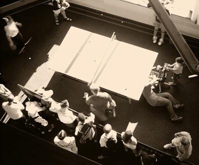 PHOTO FAIRFIELD TABLE TENNIS MACHINE; JUN 2004; 200407FA