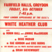 FLYER COUNTRY WHITE HEATHER CLUB; OCT 1965; 196510BE