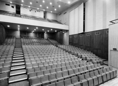 PHOTO ASHCROFT THEATRE STALLS; NOV 1962; 196211JI