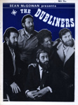 PROGRAMME THE DUBLINERS; NOV 1968; 196811BG