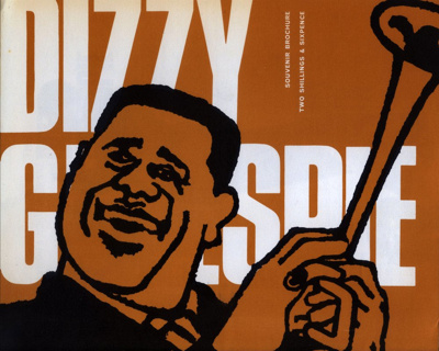 PROGRAMME DIZZY GILLESPIE; DEC 1965; 196512BE