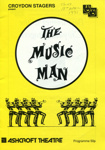 PROGRAMME - THE MUSIC MAN; APR 1991; 199104MA