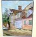 Untitled (Village Scene); Lula Currie (1917-1996); Unknown