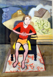Portrait of a Son; Annie Baird (1935-1999), New Zealand; 1976
