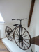 bone shaker bicycle; 1869AD; 1980.96.1006
