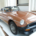 MG roadster, soft top; MG Works; 23.10.1980AD; BMHT Loan.1