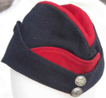 Uniform Cap from Auxiliary Fire Service.; BLSBM 1996:0026