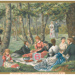 "Huntley and Palmers trade card entitled ""The Picnic (Epping Forest)""; LDQEH.2014.1"