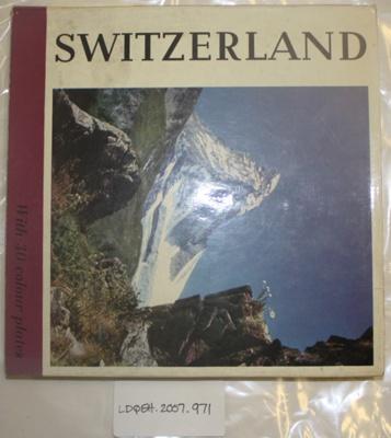Book 'Switzerland' Butt family; LDQEH.2007.971
