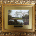 Framed oil painting of Epping Forest scene, 'Court Hill Water near Chingford' (one of a set of 7); 19th century; LDQEH.2012.1.4