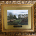 Framed oil painting of Epping Forest scene, 'Goldings Hill near Chingford' (one of a set of 7); 19th century; LDQEH.2012.1.1