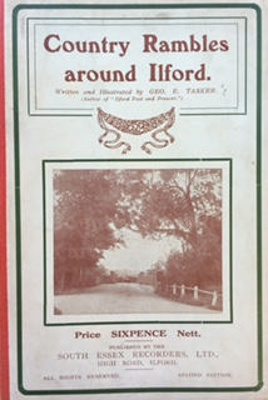 Booklet, 'Country Rambles around Ilford', written and