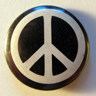 CND badge, 1980s; 1980s; BA014