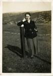 Martha MacLean in Lower Toscaig; c.1935; 2011.276