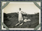 Martha and Farquhar MacLean at Manitoba, Applecross; c.1935; 2011.278