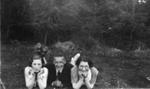 Trio in a garden; 1934; 2011.160