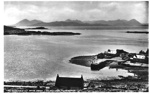 The Cuillins of Skye from Applecross, Ross-shire; c.1940; 2012.9