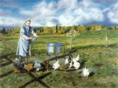 Daily Chores; Norma Callicott; PC-2005-88