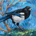 Magpie, Oh Magpie; Crystal Driedger; 2017; PC-2017-217