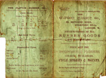 Clifton Rubber Co Stamford Hill. Price List; BC.0005