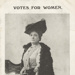 Votes for Women: Mrs Nellie Alma Martel, postcard; 1911; 10154/305