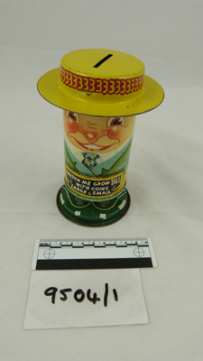 Sammy the Laughing Money Box/Watch Me Grow; 1930s; 9504/1