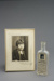 The Randall Cough Mixture Bottle and photograph of Doris Ann Randall; Clide Randall; 1920's-30's; Fincham Collection 085