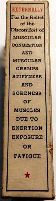 Sloan's Liniment Patent Medicine