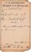 1880 Compounded Prescription from Northcraft Drug House in Abilene, KS (USA).; A.G. Northcraft, Abilene, KS Druggist; December 8, 1880; Fincham Collection 310
