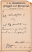 1880 Compounded Prescription for inflammation of the mouth (stomatitis) from Northcraft Drug House in Abilene, KS (USA).; A.G. Northcraft, Abilene, KS Druggist; October 24, 1880; Fincham Collection 314