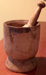 Large Wooden Mortar and Pestle; Unknown; 1800s; Fincham Collection 140