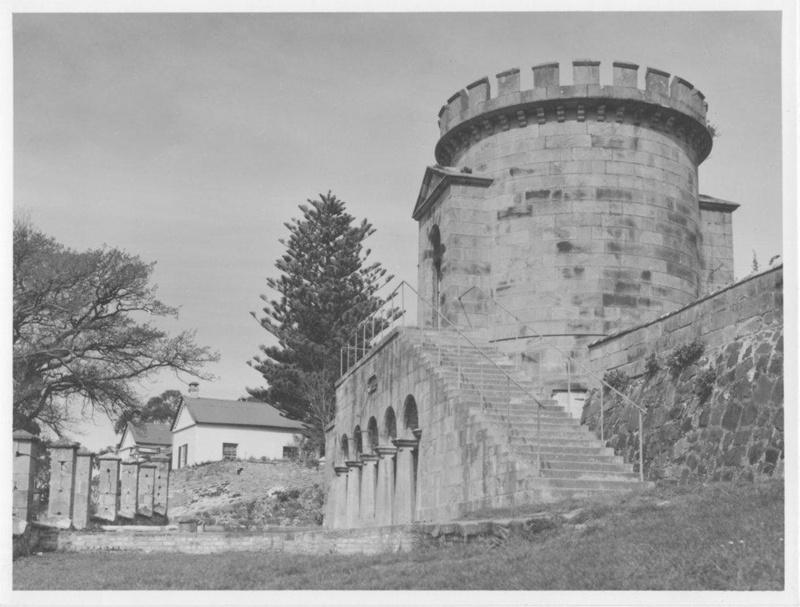 Magazine and Commandant's Cottage, Port Arthur, Tasmania.; Thwaites, Jack; 1969; TSO00018562.10
