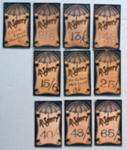 Price card; Unknown; 1907 - 1920; NTTUS0399