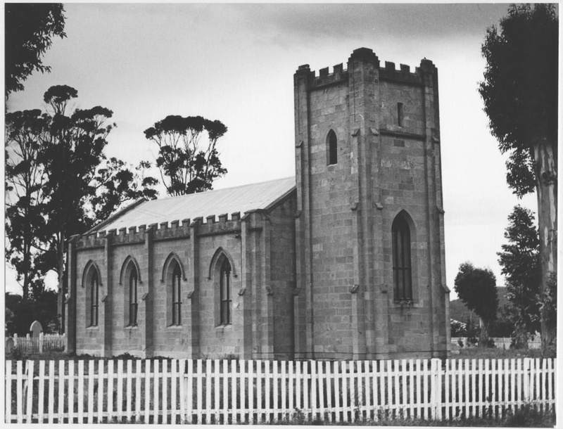 St. Mathews Church, Rokeby 1963; TSO00018368