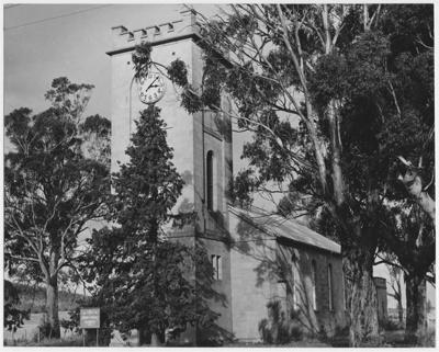 St. Lukes Church of England, Richmond, Tasmania. ; Unknown; 1963; TSO00018301