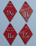Price cards; Unknown; 1907 - 1920; NTTUS0400