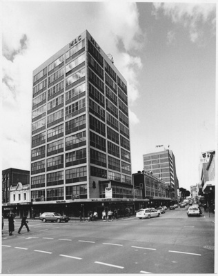Corner of Liverpool and Murray St,  Hobart, Tasmania; Stephens, Don; 1991 ; TSO00018559