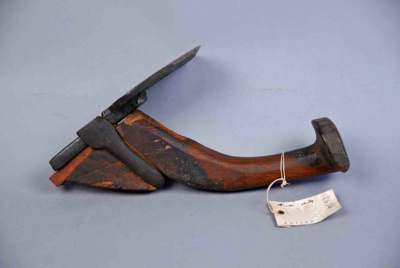 Stirrup Adze also referred to as a Connecticut Hand Adze; 19th century; 2636