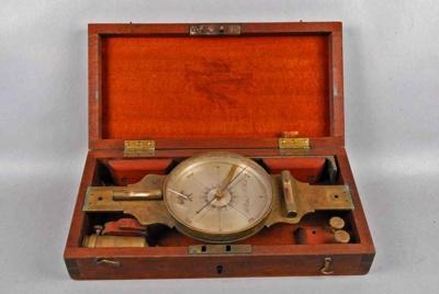 Surveyor's Compass; Richard Patten, New York; 1840-1860; 1333