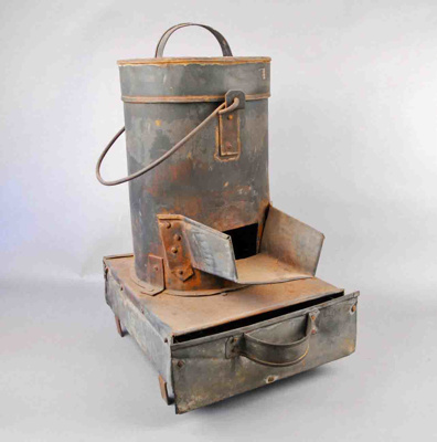 Tinsmith's Stove ; Owner Made; ca. 1850; 2831