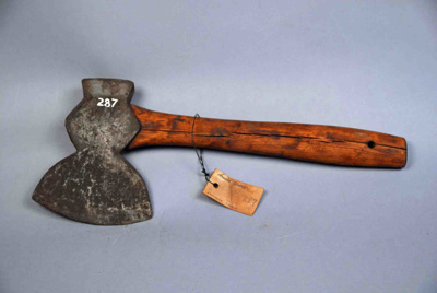 Carpenter's Hewing Hatchet; 287