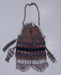 Crochet and beaded purse; c. late 19th, early 20th C; 2013.00.234