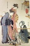 Plant seller; Torii Kiyonaga (Japanese printmaker active 1752-1815); n.d.; EC158JP
