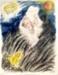 Moses; Reuven Rubin (Israeli painter, 1893-1974); 1973; 5522
