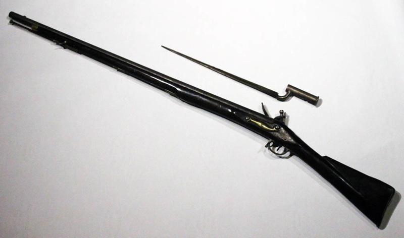 "Brown Bess"" Flintlock Musket and Bayonet"